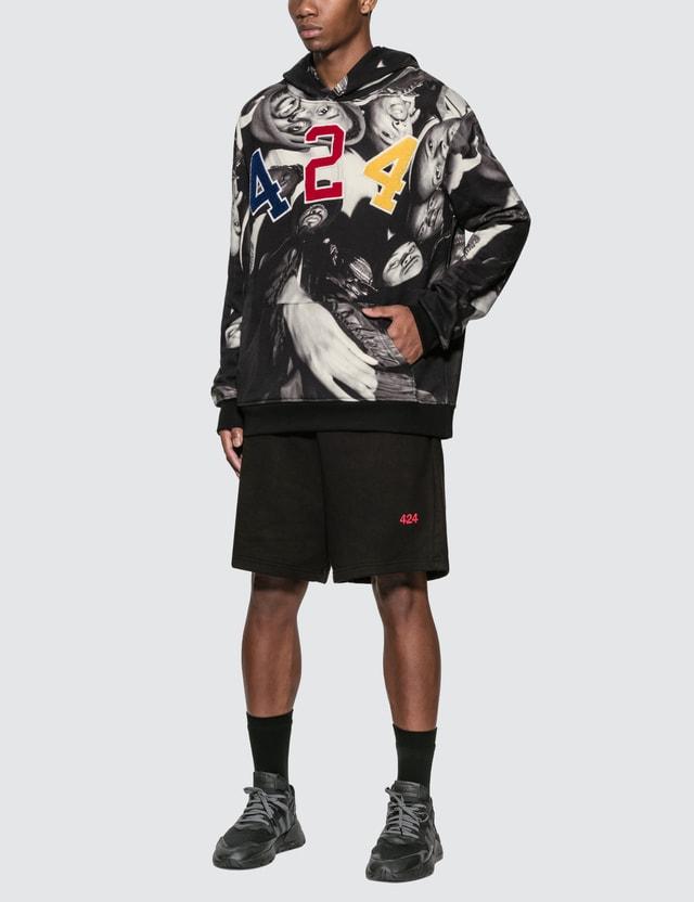 424 Wu-Tang Hoodie Black Men