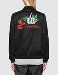 """RIPNDIP """"Dead Rose"""" Cotton Coach Jacket Picture"""