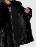 Mastermind World Faux Fur Jacket With Skull Logo