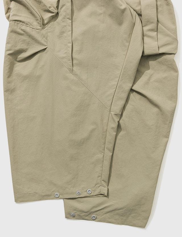 "GOOPiMADE ""MT-05"" Tri-Dynamic Utility Pants Beige Men"