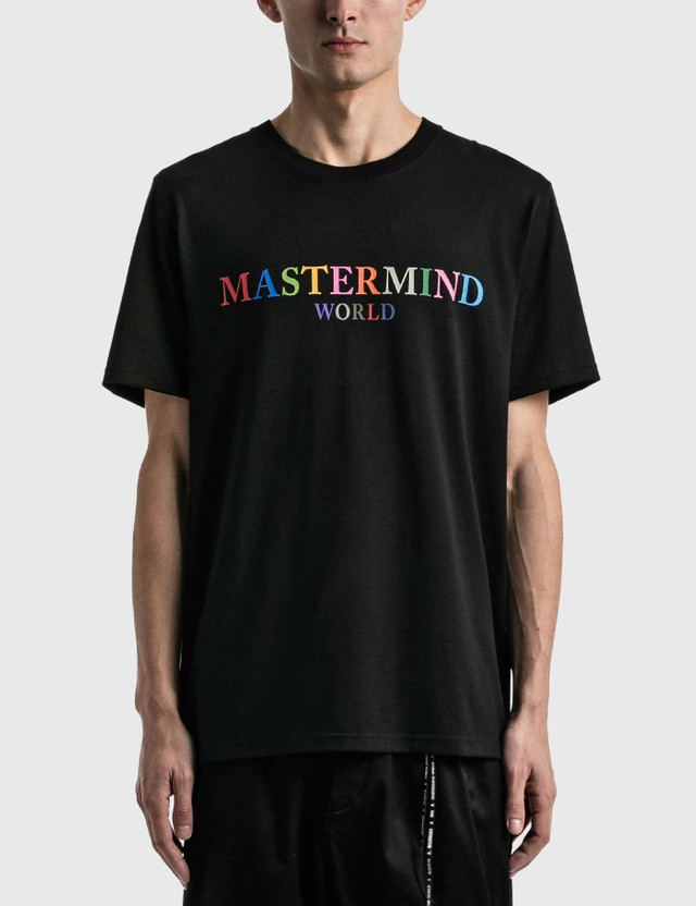 Mastermind World Colored Logo T-shirt Black Men