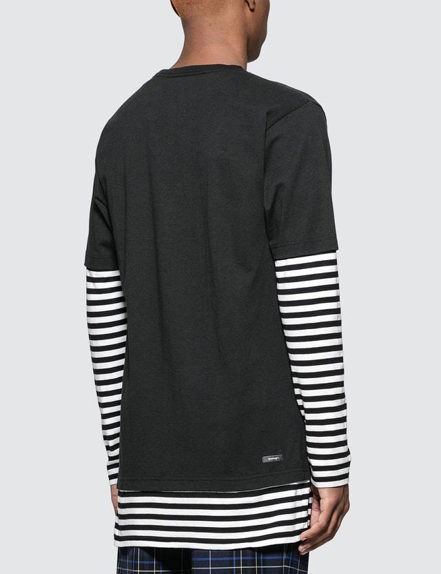 SOPHNET. L/S Fake Layered T-Shirt
