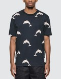Thom Browne Dolphin Print T-Shirt Picture