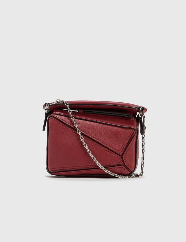 Loewe Nano Puzzle Bag Rouge Women