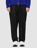 Maison Margiela Wideleg Black Pants Two Ply Wool Picutre