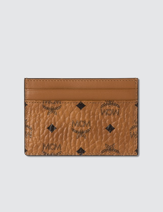MCM Card Case in Visetos Original
