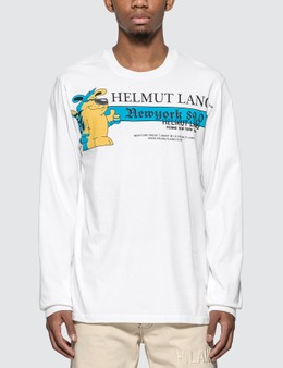 Helmut Lang Standard Radio Long Sleeve T-Shirt