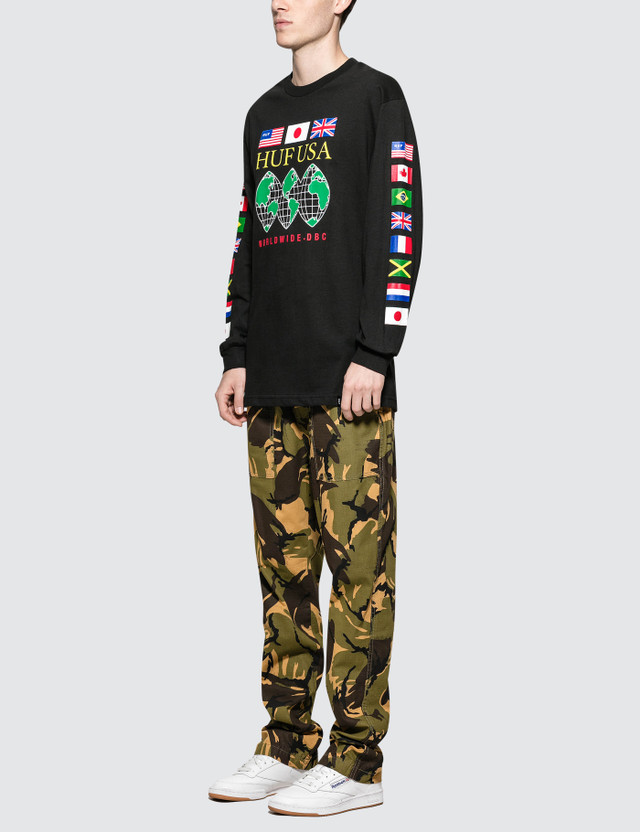 Huf Global Domination L/S T-Shirt