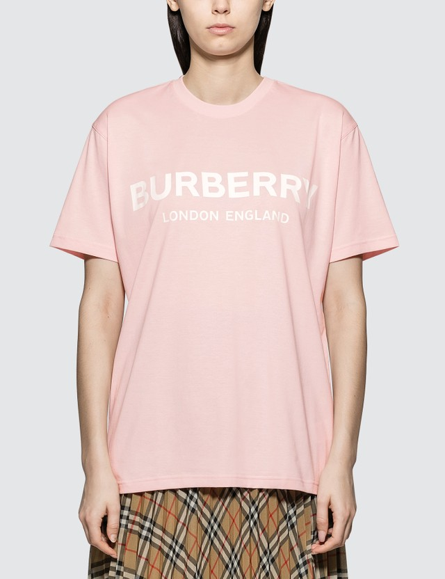 Burberry Carrick Logo Short Sleeve T-shirt
