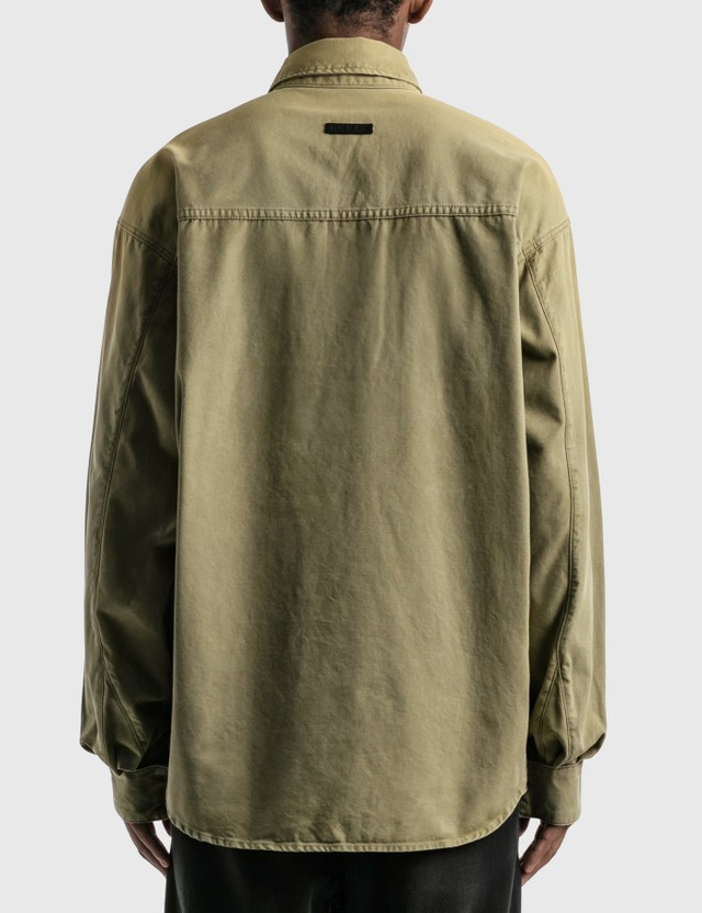 Fear of God Military Canvas Pullover Shirt Army Green  Men