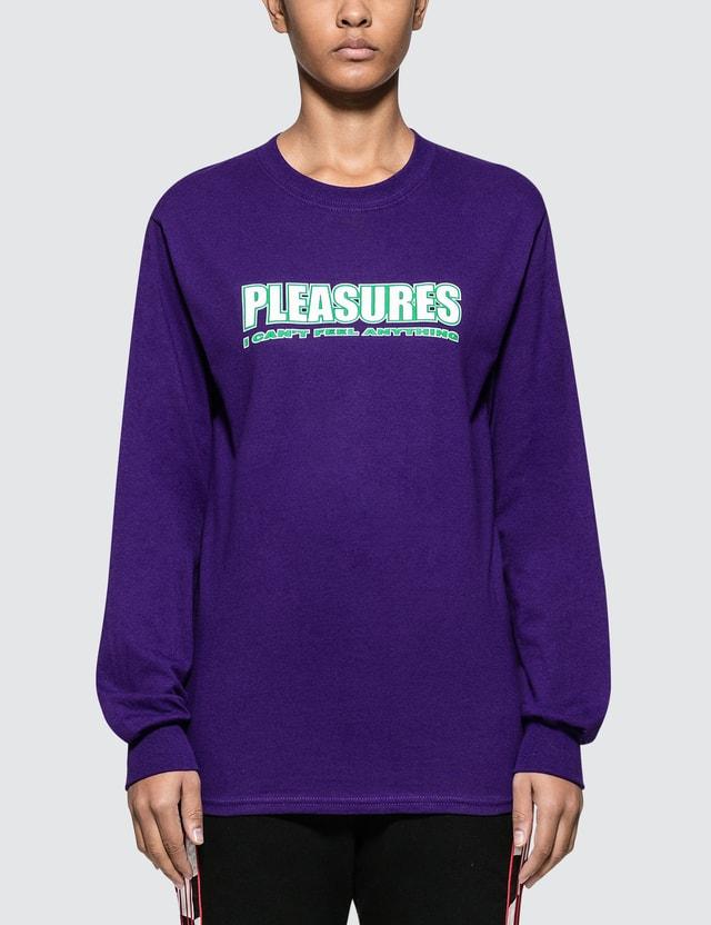 Pleasures Feel My Face Long Sleeve T-shirt