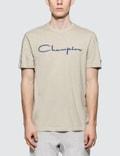 Champion Reverse Weave Cotton Linen Script Logo S/S T-Shirt Picture