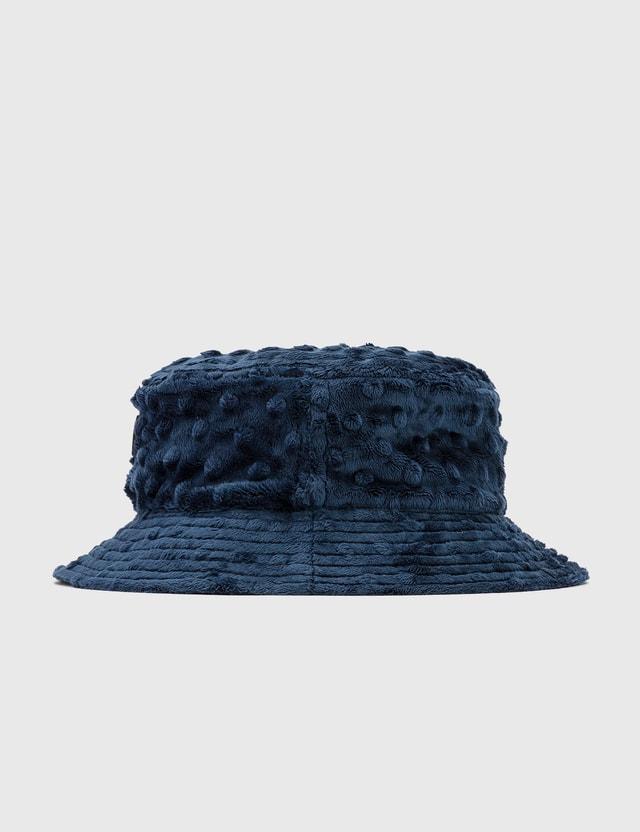 Brain Dead Embossed Fur Bucket Hat
