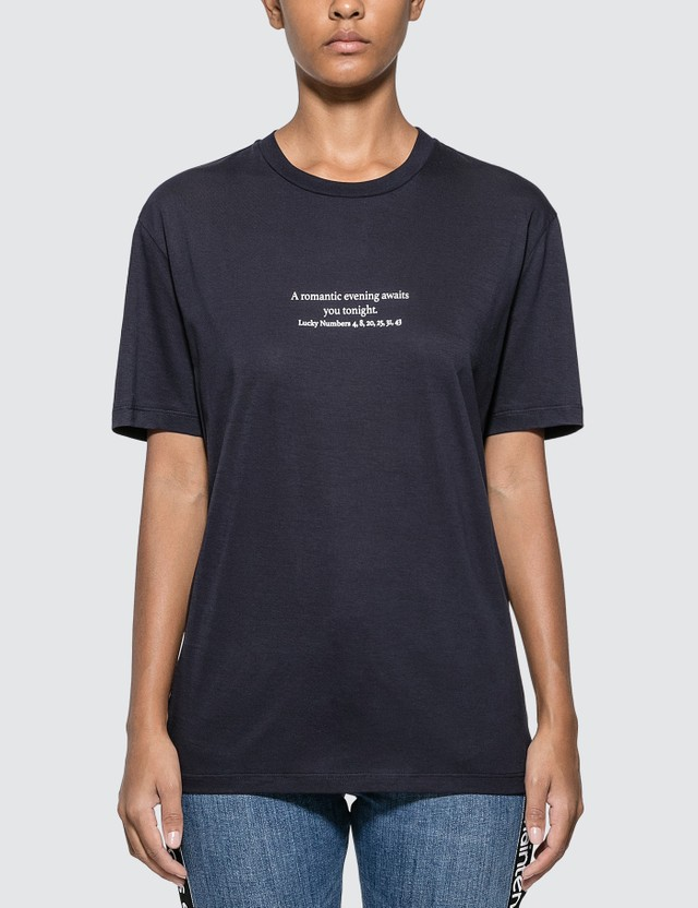 Stella McCartney Classic T-shirt Navy Women