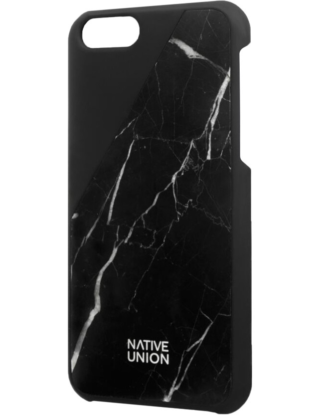 Native Union Black C.marble-iphone 6 Case