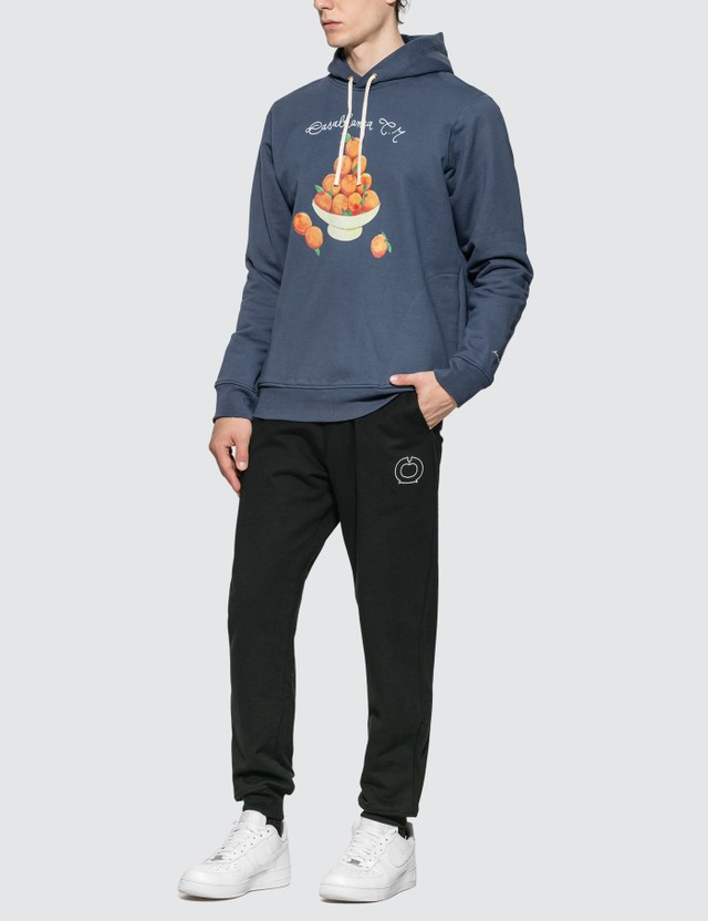 Casablanca Pyramid Of Oranges Script Hoodie