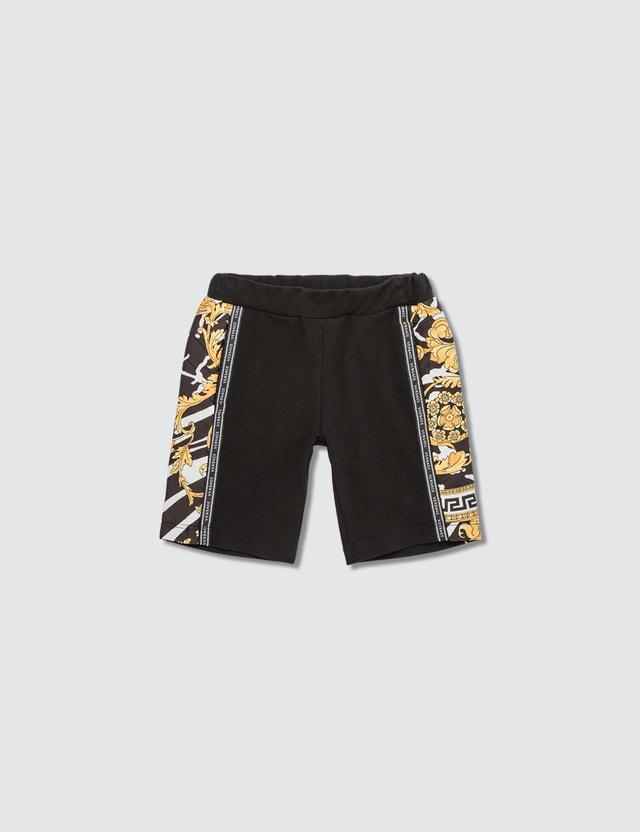 Versace Savage Barocco Motif Shorts (Toddler)