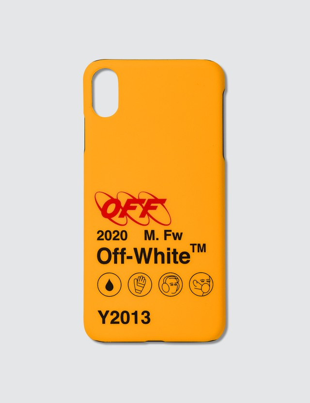 Off-White Industrial Y013 iPhone XS Max Case