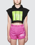 MSGM Chromotherapy Crop Hoodie Picture