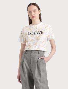 Loewe Flower Print Loewe T-shirt
