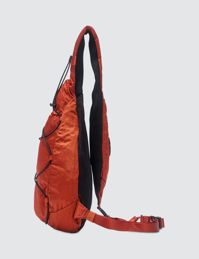 CP Company Garment Dyed Nylon Sateen Lens Shoulder Bag