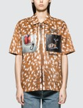 Burberry Animal Print Woven Shirt Picutre