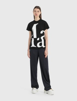 Maison Margiela Straight Leg Pants With Elastic Waist