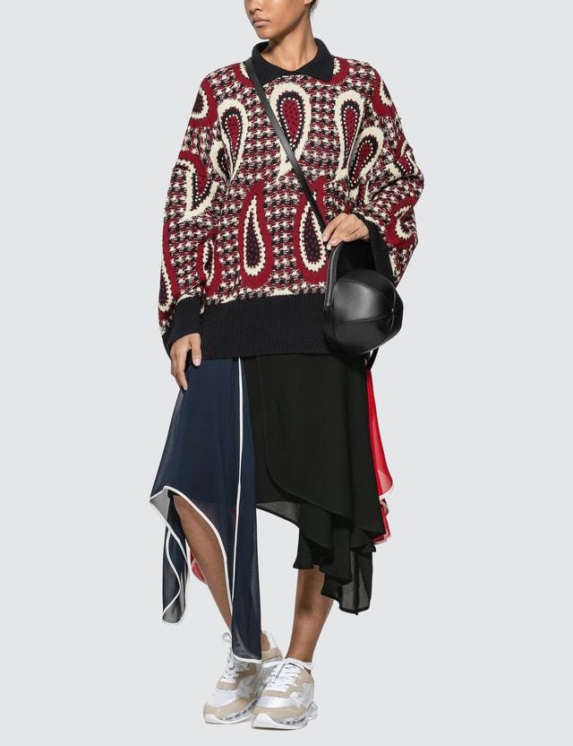JW Anderson Petal Skirt Black Women