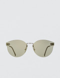Super By Retrosuperfuture Tuttolente Panamá Ivory Sunglasses Picutre