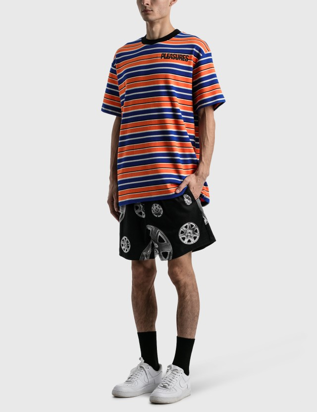 Pleasures Roadside Twill Shorts Black Men