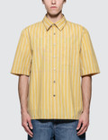 Lanvin Oversized S/S Shirt with Chest Pocket Picutre