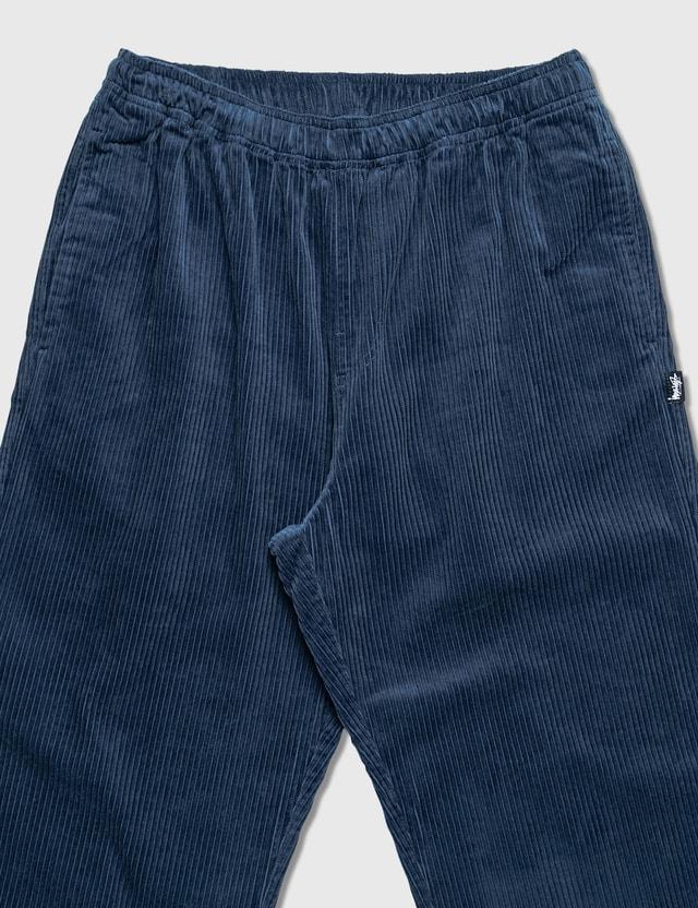 Stussy Wide Wale Beach Pants Navy Men