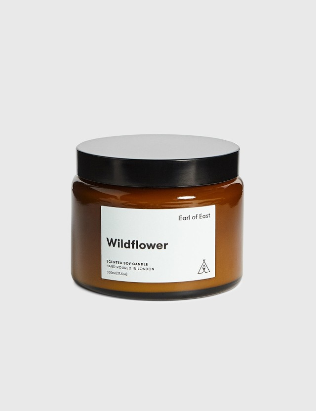 Earl Of East Wildflower Soy Wax Candle N/a Men