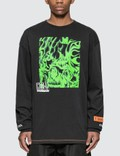 Heron Preston Box Skull Long Sleeve T-shirt 사진