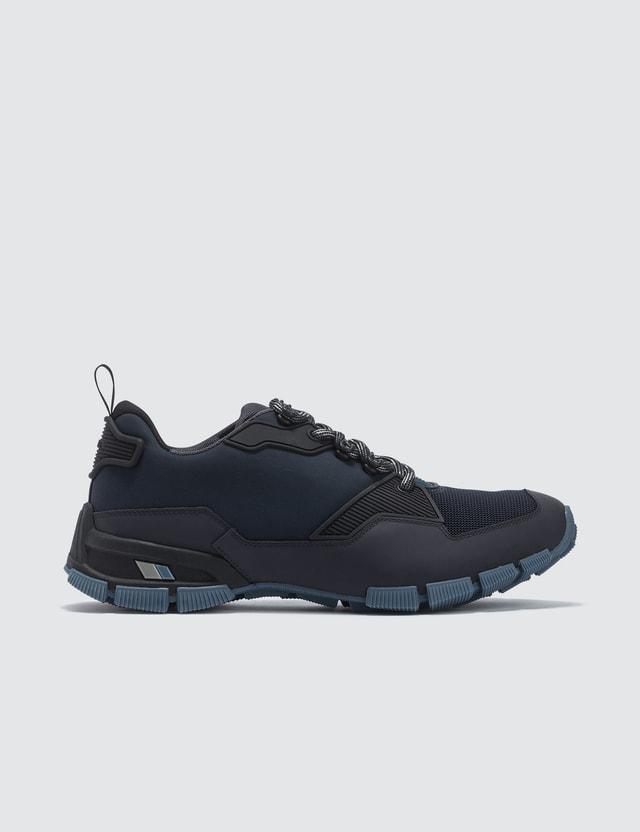 Prada Contrast Technical Sneaker
