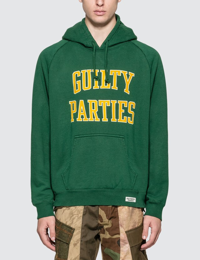 Wacko Maria Washed Heavy Weight Pullover Hooded Sweat Shirt (Type-5)