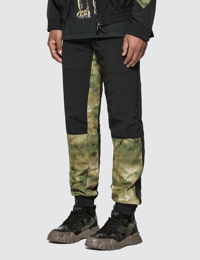 Rhude Nylon Track Pants Blk Men