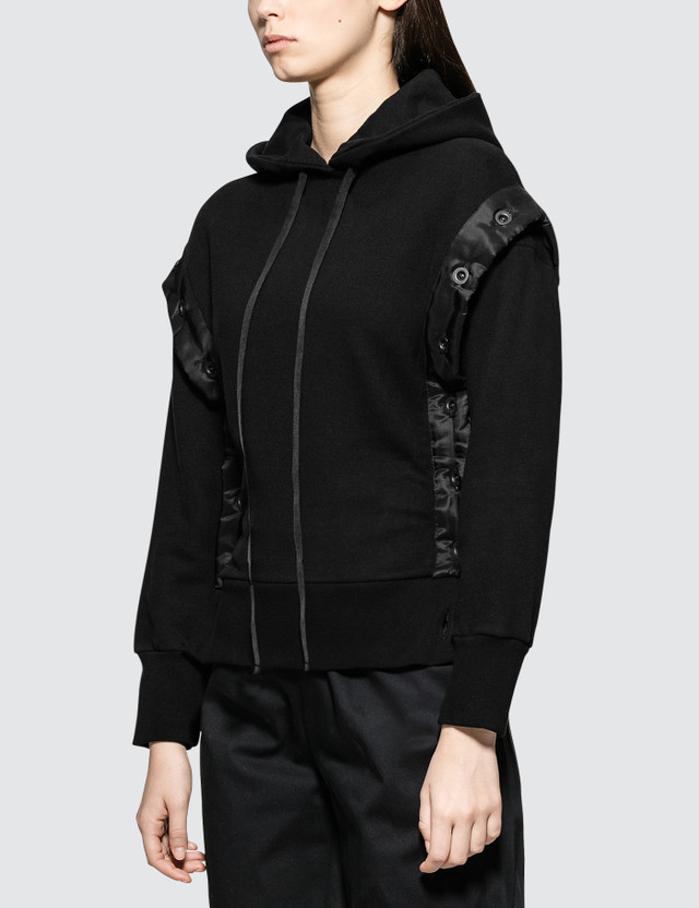 Unravel Project Terry Open Button Hoodie
