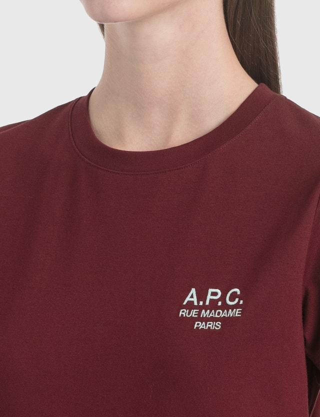 A.P.C. Denise Logo Print T-Shirt