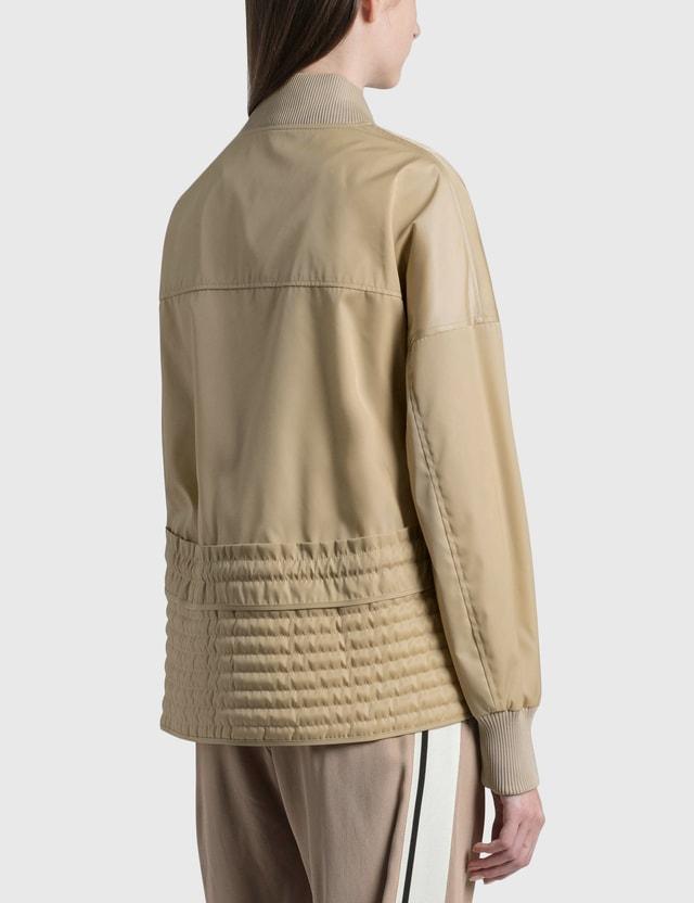 Moncler Baldah Bomber Jacket Beige Women