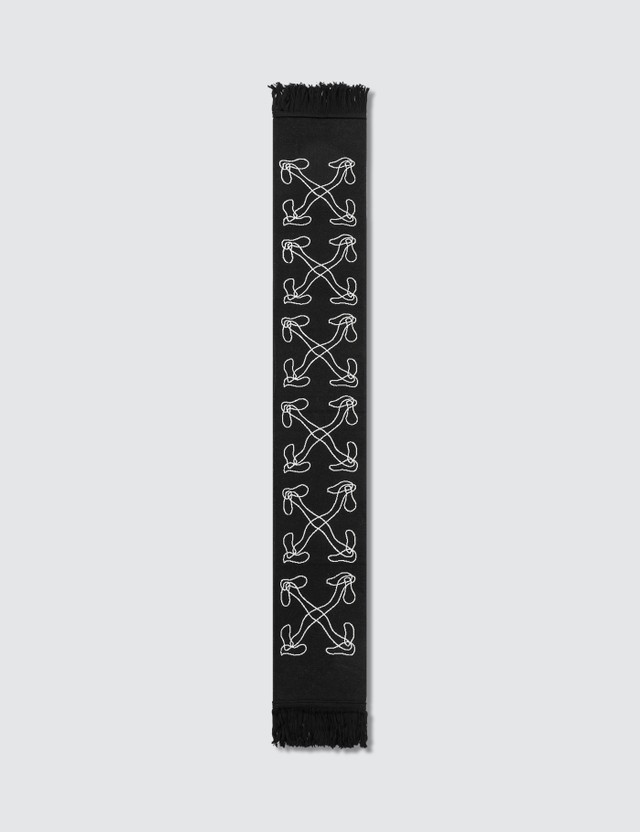 Off-White Abstract Arrows Scarf