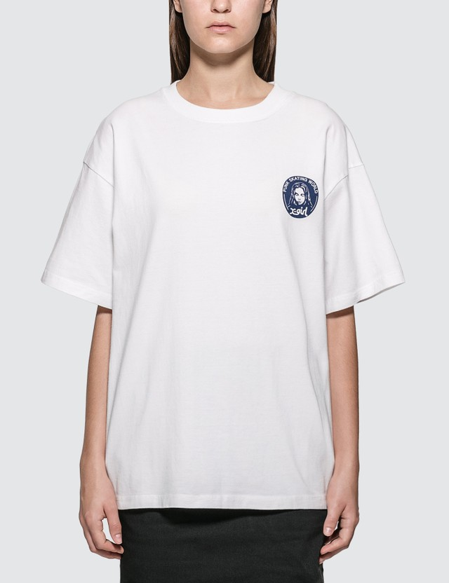 X-Girl Chest Face Logo T-shirt
