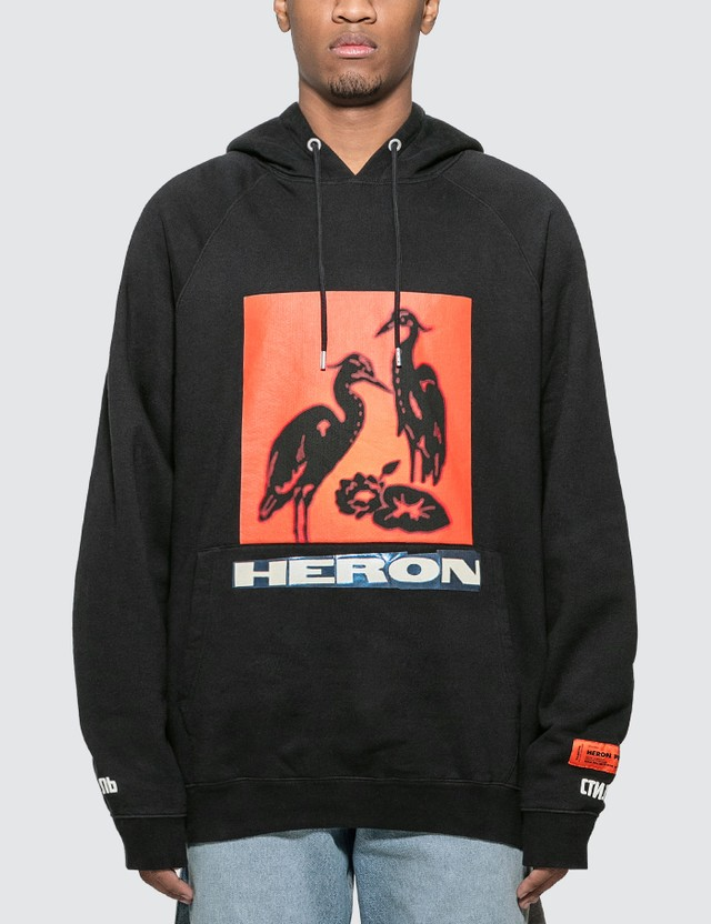 Heron Preston Raglan Hoodie