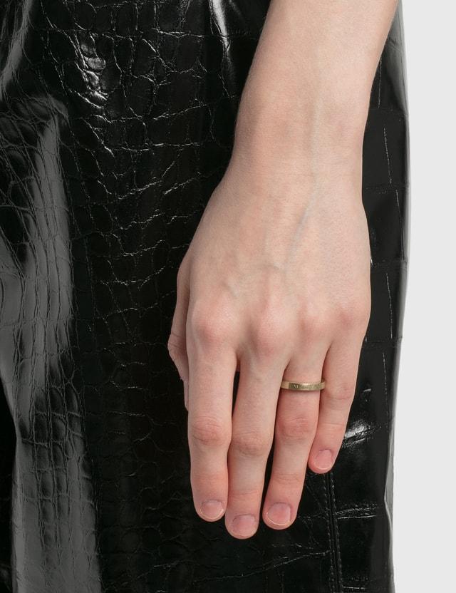 Maison Margiela Logo Slim Ring