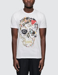 Alexander McQueen S/S T-Shirt with Big Skull Print Picture