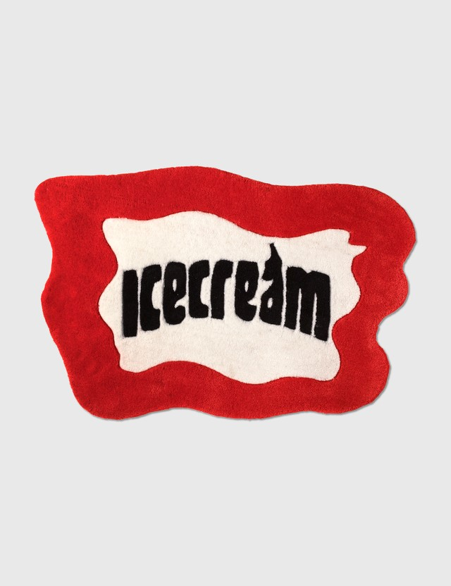 Icecream ICECREAM Soft Serve Rug Red Unisex