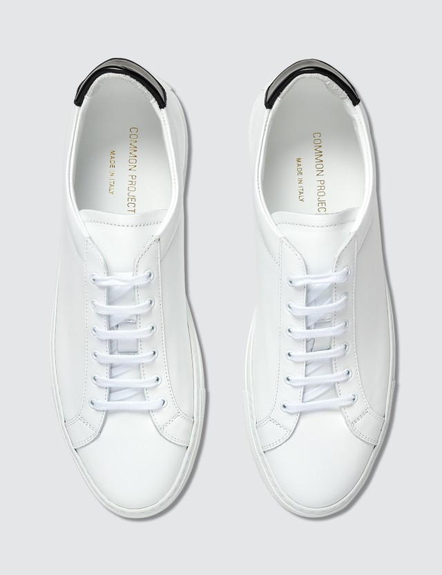 Common Projects Retro Low White/ Black Men