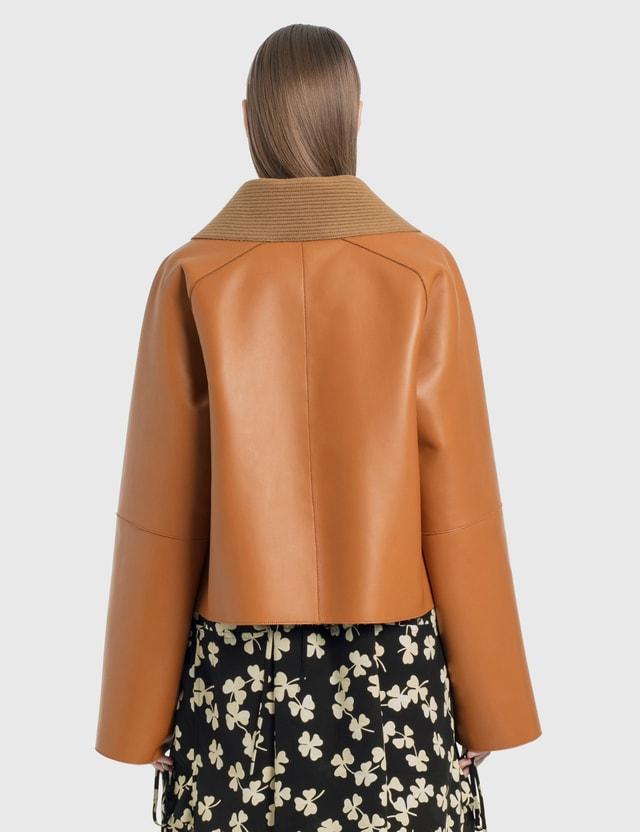 Loewe Bonded Cropped Jacket