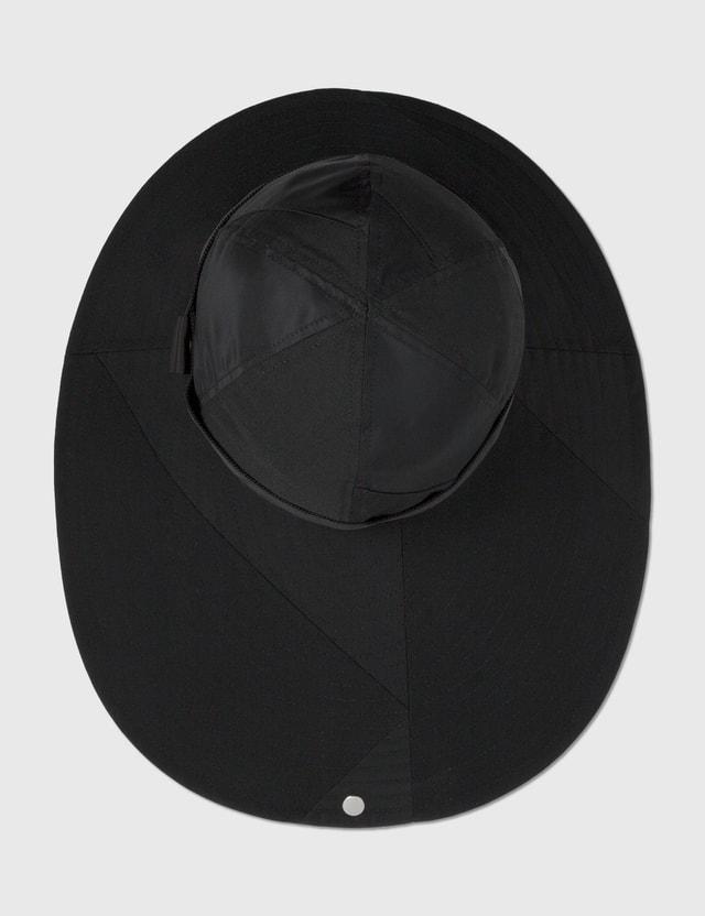 Sacai Hank Willis Thomas Solid Mix Hat Black Men