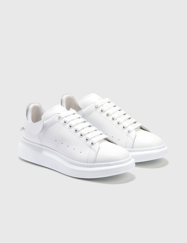 Alexander McQueen Oversized Sneaker With Removable Velcro Patches